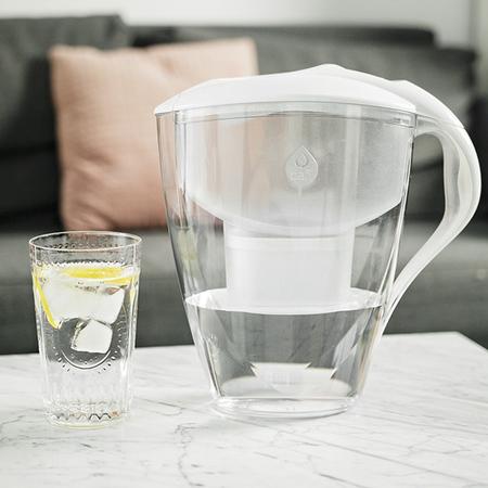Dafi dzbanek filtrujący Omega 4,0L MI + 2 filtry Unimax biały (outlet)