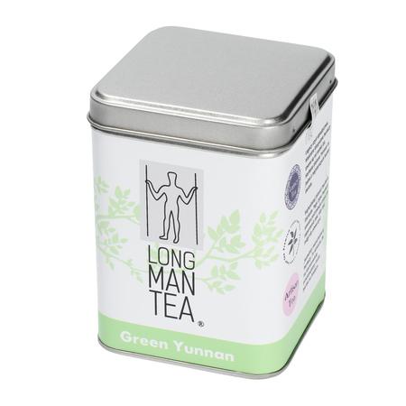Long Man Tea - Zielony Yunnan - Herbata sypana - Puszka 120g