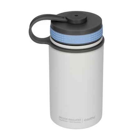 Asobu Mini Hiker Water Bottle 355ml White (outlet)