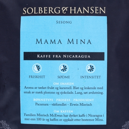 Solberg & Hansen - Nicaragua Mama Mina