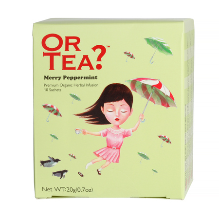 Or Tea? - Merry Peppermint - Herbata 10 Torebek
