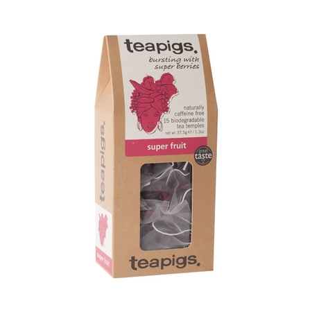 teapigs Super Fruit 15 piramidek