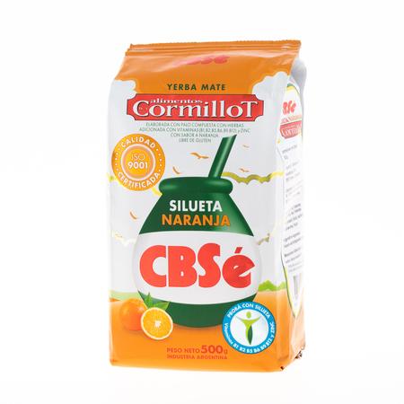 CBSe Silueta Naranja - yerba mate 500g