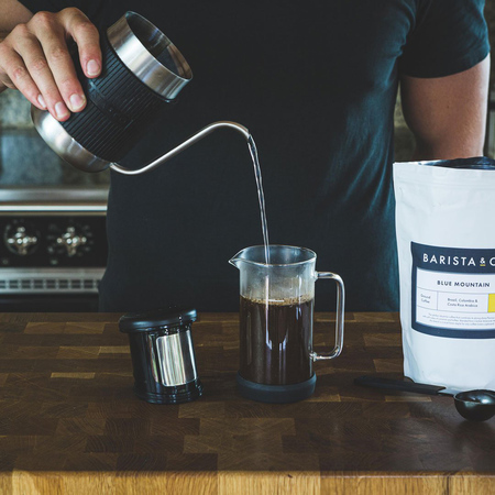 Barista & Co. Shorty Pour Over Jug Steel (600 ML) (outlet)