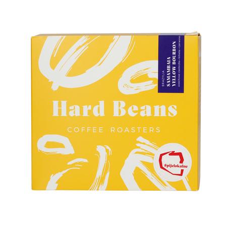 Hard Beans - Brazylia Samambaia Yellow Bourbon Filter - Kawa mielona