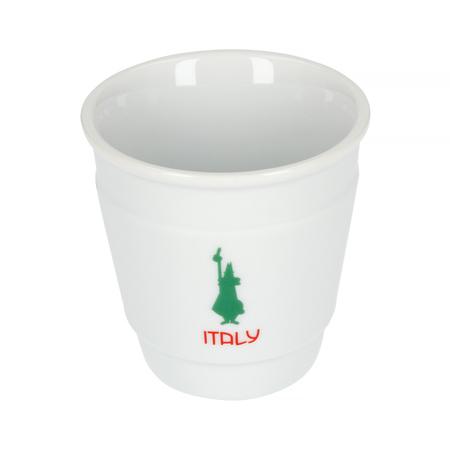 Bialetti Mini Express 2tz Italia + 2 filiżanki