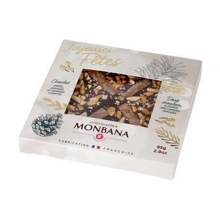 Monbana - Świąteczna gorzka czekolada 85g