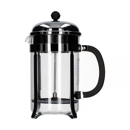 Bodum Chambord French Press 12 cup - 1,5l Chrom - Ze zbiornikiem z tworzywa