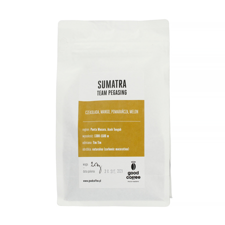 Good Coffee - Indonezja Sumatra Team Pegasing Filter
