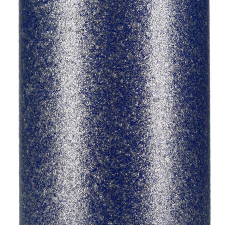 Asobu - Skinny Mini Glitter Niebieski - Butelka termiczna 230 ml