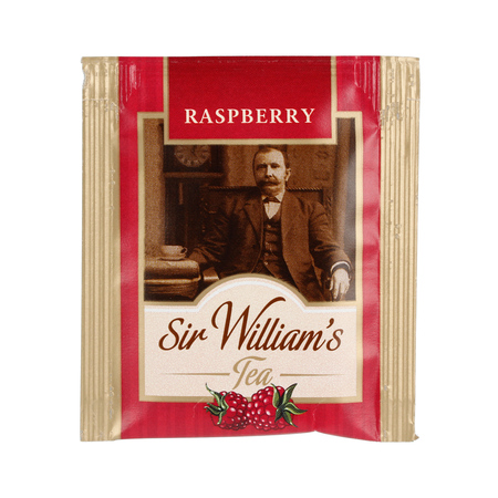 Sir William's - Raspberry - Herbata 50 saszetek