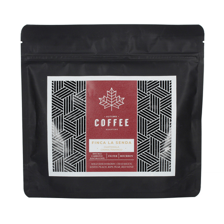Royal Beans: Autumn Coffee - Gwatemala La Senda Bourbon 125g