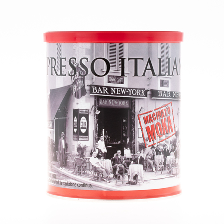 New York Lattina 100% Arabica Macinato Moka