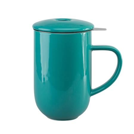 Loveramics Pro Tea - Kubek z zaparzaczem 450 ml - Teal (outlet)