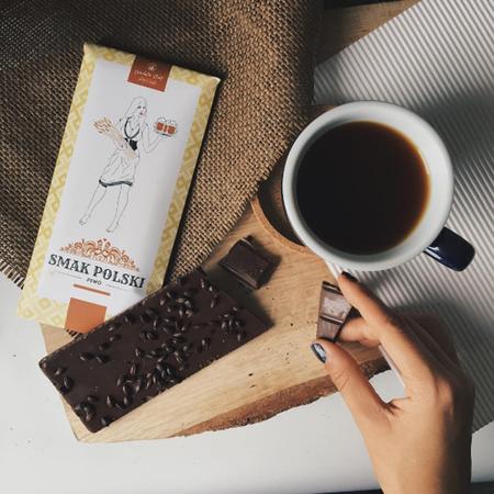 Czekolada Smak Polski 44% kakao - Piwo