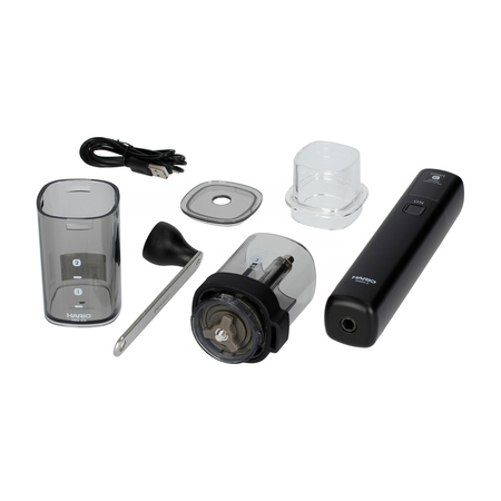 Hario - Smart G Electric Handy Coffee Grinder - Młynek z nakładką elektryczną