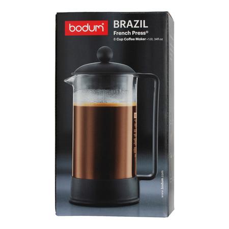 Bodum Brazil French Press 8 cup - 1l Czarny