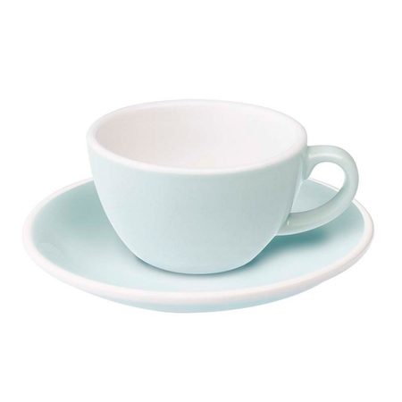 Loveramics Egg - Filiżanka i spodek Flat White 150 ml - River Blue