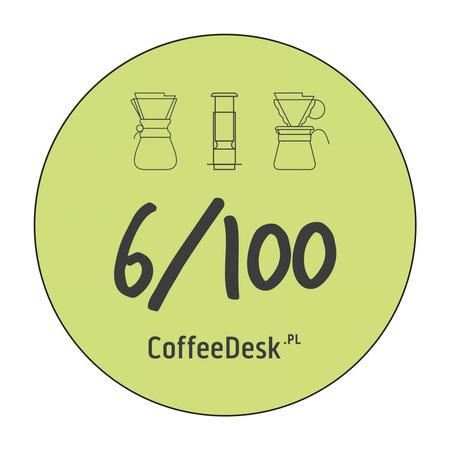 Zestaw 5 przypinek Coffeedesk