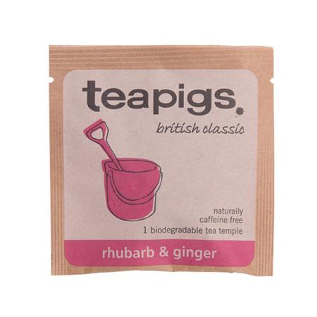 teapigs Rhubarb & Ginger - Koperta