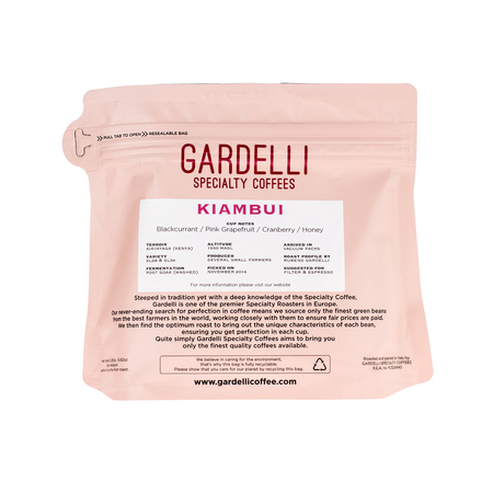 Gardelli Specialty Coffees - Kenya Kiambui (outlet)