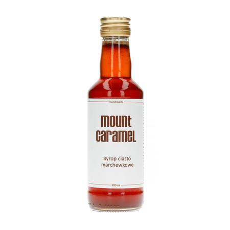 Mount Caramel Dobry Syrop - Ciasto Marchewkowe 200 ml