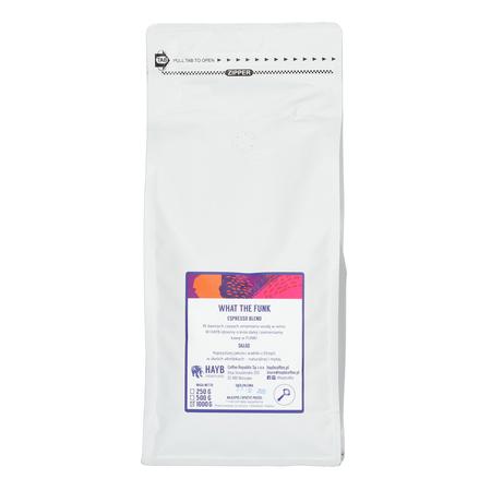HAYB WTF Etiopia Blend 50/50 ESP 1kg, kawa ziarnista (outlet)
