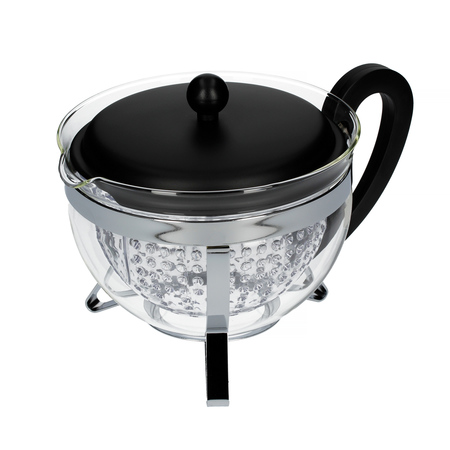 Bodum Chambord - Zaparzacz do herbaty z plastikowym filtrem 1,3l - Czarny