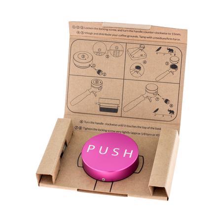 Clockwork Espresso - PUSH Tamper - Różowy