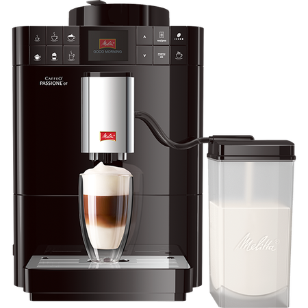 Melitta ekspres ciśnieniowy CAFFEO PASSIONE OT CZARNY F53/1-102 EU (outlet)