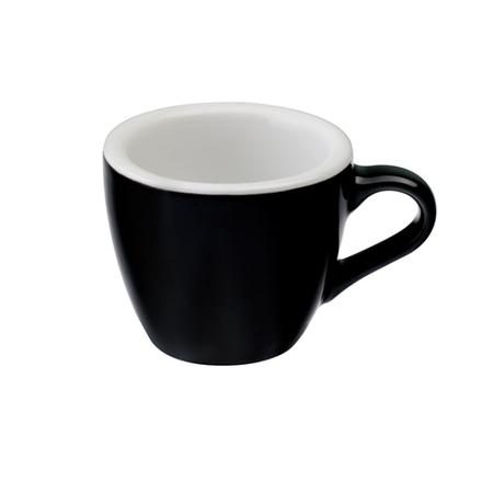 Loveramics Egg - Filiżanka i spodek Espresso 80 ml - Black