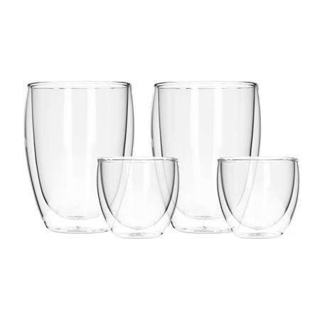 Bodum Double Wall Glass Set - Zestaw szklanek z podwójnymi ściankami