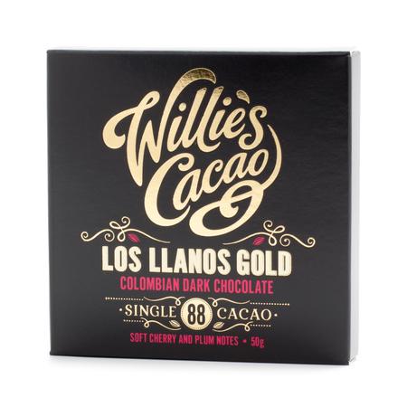 Willie's Cacao - Czekolada 88% - Los Llanos Gold Kolumbia 50g