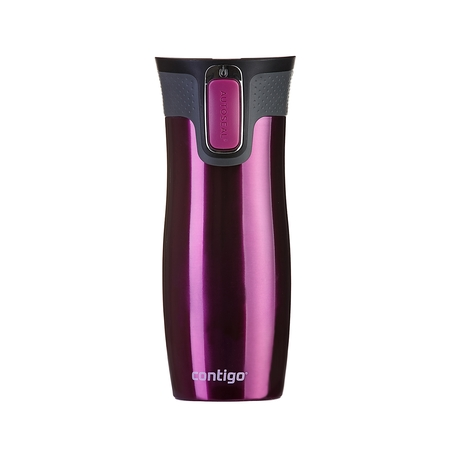 Contigo West Loop 2.0 Raspberry - Kubek Termiczny 470 ml
