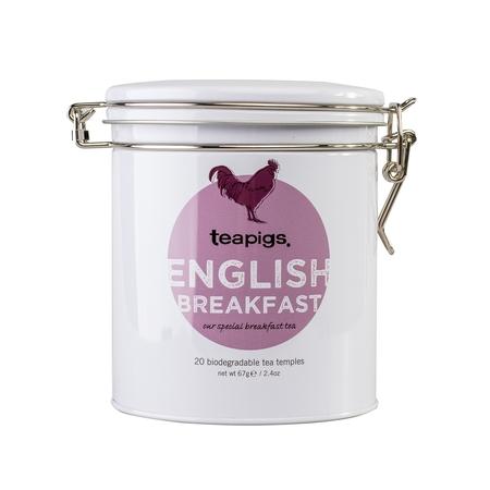 teapigs English Breakfast 20 piramidek - Puszka