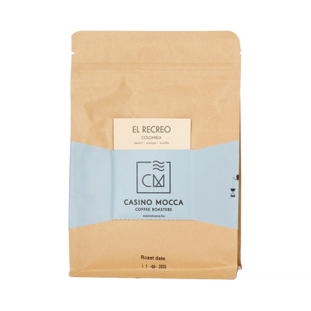 Casino Mocca Colombia Yacuanquer El Recreo Washed FIL 200g, kawa ziarnista (outlet)