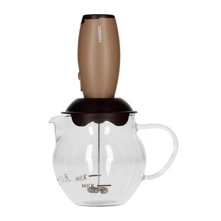 Hario - Qto Creamer - Spieniacz do mleka z dzbankiem