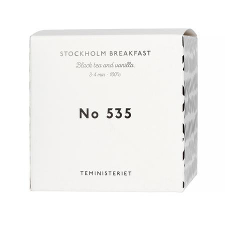 Teministeriet - 535 Stockholm Breakfast - Herbata Sypana 100g