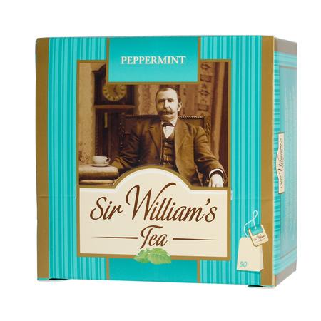 Sir William's - Peppermint Green - Herbata 50 saszetek