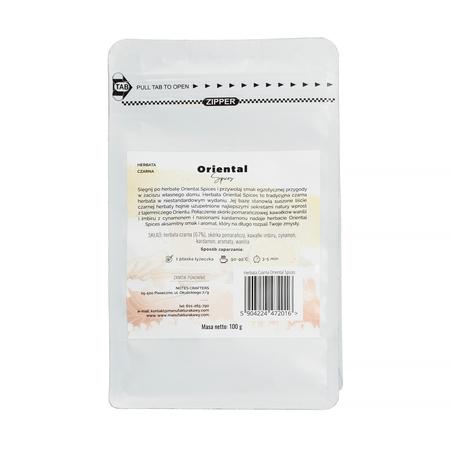 Notes Crafters - Oriental Spices Czarna - Herbata sypana 100g