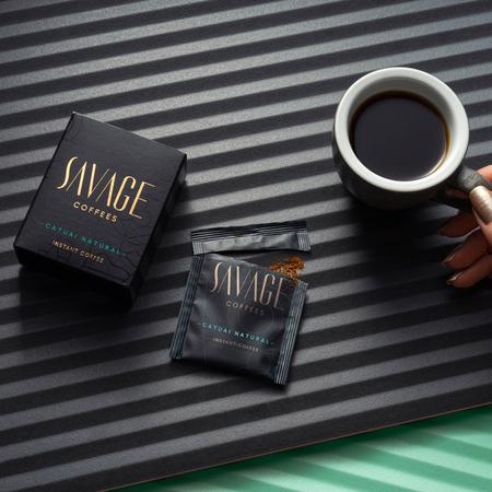 Savage Coffees - Catuai Natural Instant - 7 saszetek