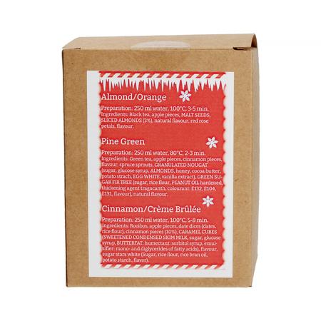 Mount Everest Tea - Christmas Tea-Box - Herbata 15 piramidek