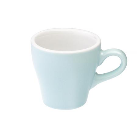 Loveramics Tulip - Filiżanka i spodek Espresso 80 ml - River Blue