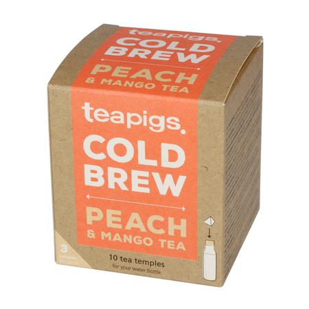 teapigs Peach & Mango - Cold Brew 10 piramidek