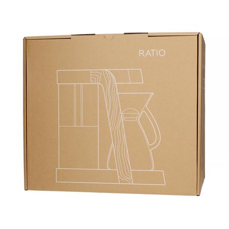 Ratio Eight - Srebrny / Kauczukowiec - Ekspres przelewowy