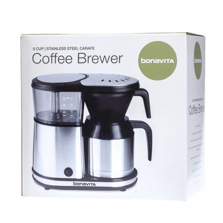 Bonavita 5 Cup Stainless Steel Carafe Coffee Brewer - Ekspres przelewowy