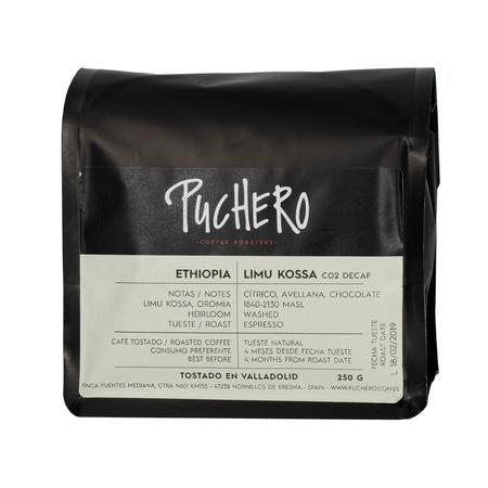 Puchero Coffee - Ethiopia Limu Kossa Espresso - Kawa bezkofeinowa