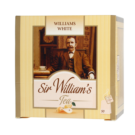 Sir William's - Williams White - Herbata 50 saszetek