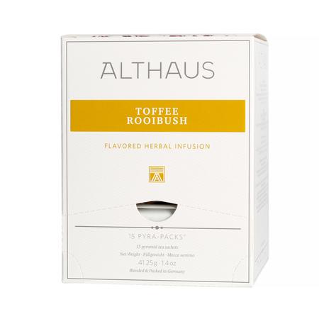 Althaus - Toffee Rooibush Pyra Pack - Herbata 15 piramidek