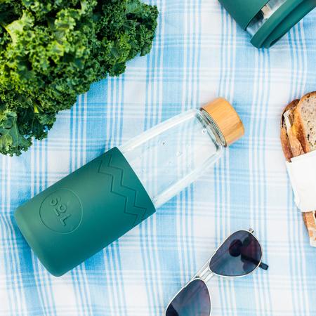 Sol - Zielona butelka + Wycior + Etui